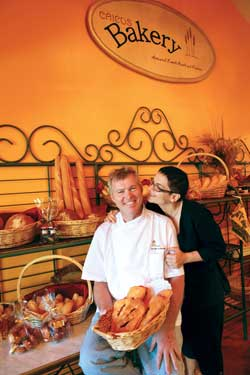 Eric Cuvillon and Tatjana Milovanovic opened the bakery on Grace Bay Road in 2009, off ering classic French breads and delicate pastries.