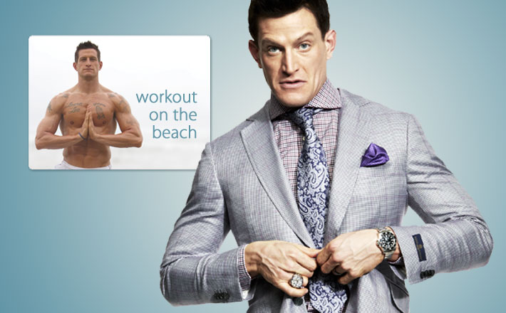 Steve Weatherford kicks back